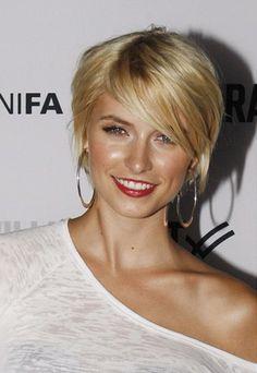 Lena Gercke short hair