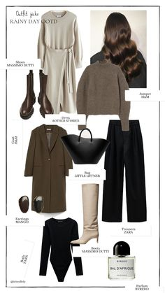 Fall Wardrobe, Outfit Of The Day, Autumn Fashion, Ootd, Dark, My Style, Outfits, Today's Outfit, Fall Fashion