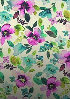 #Bucolique Envolée de #fleurs surdimensionnées sur ce #tapis aux tons acidulés en #pure #laine.