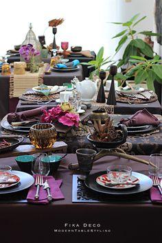 Place Settings, Table Settings, Modern Serveware, C Table, Fika, Tablescapes, Tableware, Interior, Mesas