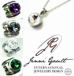bcae79ea0 International Jewelry, Jenni, Crystal Jewelry, Washer Necklace, Swarovski  Crystals