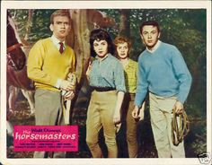 #Disney's The Horsemasters (weird note: I had a crush on Tommy Kirk...who by the time we had Disneychannel in the '80s was way older than my parents...)