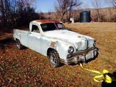 "1947 Frazer pickup! One of three promotional trucks commissioned by Earl ""Madman"" Muntz"