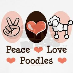 Peace Love Poodles