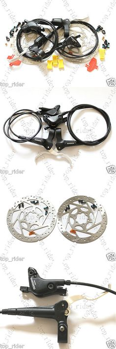 Brakes 177808: Shimano Deore Br-M535 Hydraulic Disc Brake Lever Front Rear 160Mm Rotor Set -> BUY IT NOW ONLY: $128 on eBay!