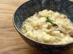 Fennel and Sausage Risotto with Sake