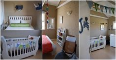 Hot air balloons over Africa nursery - The Mommy City