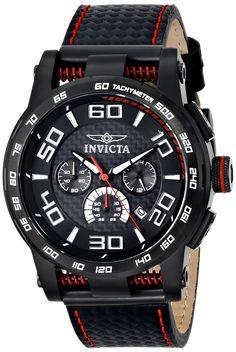 Invicta Men's 15905 S1 Rally Analog Display Japanese Quartz Black Watch