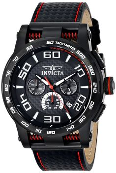 Invicta Men's 15905 S1 Rally Analog Display Japanese Quartz Black Watch