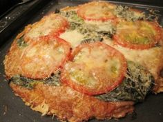 Garbonzo Bean Flour Pizza Crust or Cecina (Farinata) -   I make this at least once a week for either just me or my whole family.  I prefer it a little thicker but my children like it really thin, crisp and well-cooked.  MyNaturalFamily.com  #glutenfree #grainfree #garbanzobean #pizza #recipe
