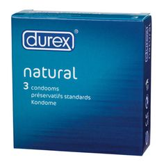 Durex Natural Condoms x 3 Pack