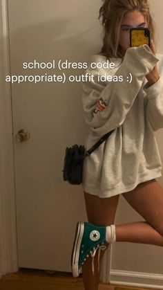 Indie Outfits, Teen Fashion Outfits, Retro Outfits, Fasion, Swaggy Outfits, Cute Casual Outfits, Teenager Outfits, College Outfits, Cute Outfits For School