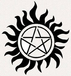 """Supernatural Pentagram Tattoos SET OF FIFTEEN - Search for other packages by TVMERCH. $11.99. This is a 3"""" x 3"""" Temporary Tattoo just like Dean & Sam wear on Supernatural. Best Quality tattoos using only 100% FDA approved ingredients.   These high quality temporary tattoos last at least 5-7 days.  YOU GET 15 TATTOOS."""