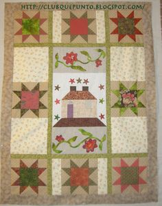 Mi afición al patchwork empezó hace pocos años, pero llevo haciendo labores desde muy pequeña.