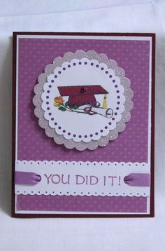 Handmade Greeting Card  Graduation by karenirene on Etsy.
