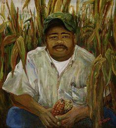 Linnie Aikins, Maize Farmer