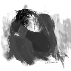 """""""""""Harry looked around; there was Ginny running towards him; she had a hard, blazing look in her face as she threw her arms around him. And without thinking, without planning it, without worrying about the fact that fifty people were watching, Harry..."""