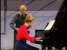 Victor Borge in Sweden practising a Chopin-valse with Anna(Rundberg) Buchenhorst as a make-up-artist, Joakim Kallhed as a cleaner and Eddie Scoller as host. Smothers Brothers, Victor Borge, Piano Recital, Academy Of Music, American Legions, Bill Cosby, His Travel, Piano Lessons, Performing Arts