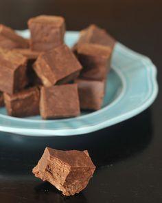 mocha tahini protein fudge via @spabettie