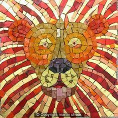 martin cheek mosaic | Martin Cheek | mosaic art  Very adorable!