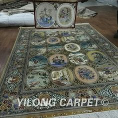 New design style handmade persian silk rugs from Yilong Carpet factory. Size is 5*7.2ft #persianrug #luxuriouslife  #handmaderug #orientalcarpet #carpetforbedroom #carpetforlivingroom #tabrizrug #antiquerug #handmadecarpet #turkishcarpet #livingroomdecor  #classicrug #carpetshop #Yilongcarpet #Vantage #love #like4like #amazing #beauty #f4f #art #style #life #fashion