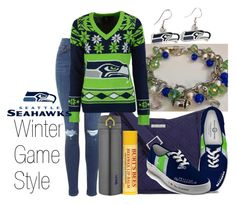 """Seahawks Winter Outfit"" by forever-inspired ❤ liked on Polyvore featuring Vera Bradley, WinCraft, The Bradford Exchange, Forever Collectibles and Thermos"