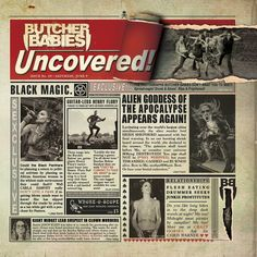 Butcher Babies - Uncovered, Green