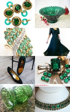 Beautiful Emeralds and Emerald Greens for Holiday Gifting!