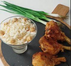 Μπουτάκια Κοτόπουλο tantouri. Πολύ νόστιμα Risotto, Cooking Recipes, Chicken, Meat, Ethnic Recipes, Food, Cooker Recipes, Essen