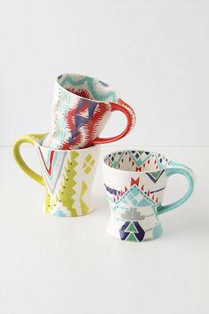 Questa Mugs >> Love these mugs!