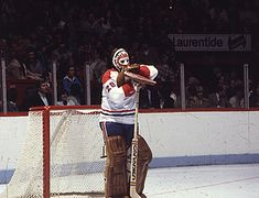 Hockey has been a huge part of my life since I was very young. It has taught me so much and I continue to play it to this day. This picture of Ken Dryden defines being a goalie to me which is the position I love to play. Hockey Goalie, Hockey Mom, Ice Hockey, Hockey Stuff, Montreal Canadiens, Ken Dryden, Parent Club, Goalie Mask, Star Wars