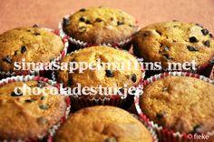Sinaasappelmuffins met Chocoladestukjes (*)