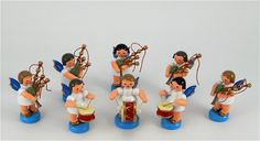 Angel Bagpipe Band With Five Pipers Two Drummers And A Base Drummer Imported From Germany