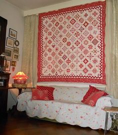 Supergoof Quilts.  I love her version of the Nearly Insane quilt