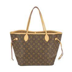My favorite go to bag...it's always FULL! #needabiggerbag! Louis Vuitton Neverfull MM