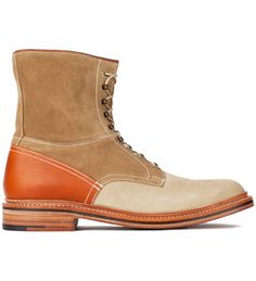 7253b19f65a45b Garbstore x Grenson Tan High Leg Leather Sole Boot