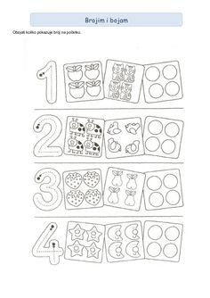 123 Manía: actividades de matemática para imprimir, resolver y colorear - Betiana 1 - Веб-альбомы Picasa Preschool Centers, Preschool Worksheets, Preschool Activities, Math For Kids, Lessons For Kids, Math Lessons, Counting Activities, Educational Activities, Numicon