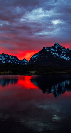 Fire all night long on the Lofoten archipelago in northern Norway • photo: Madis Särglepp