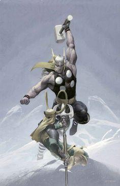 Thor & Loki...