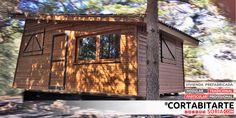 PROYECTOS | #tradicional #particular recién instalada en comarca de #Pinares #Soria #CastillaYLeon · 22m2 #MiniCasa #TinyHouse  CORTABITARTEsoria.COM/proyectos