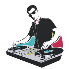 Edm Music, Dance Music, Music Clipart, Dance Silhouette, Dj Logo, Cactus Painting, Old School Music, Music Painting, Hip Hop