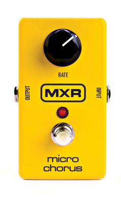 Buy your MXR Micro Chorus Guitar Effects Pedal from Sam Ash and receive the guaranteed lowest price. Guitar Effects Pedals, Guitar Pedals, Bucket Brigade, 9 Volt Battery, Studio Equipment, Pedalboard, Guitar Amp, Musical Instruments, Amp