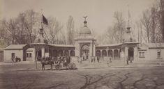Ilyen is volt Budapest - Állatkerti körút, az Állatkert régi főkapuja Old Pictures, Old Photos, Budapest Hungary, Historical Photos, Taj Mahal, Marvel, Mansions, History, House Styles