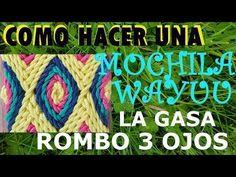 COMO HACER GASA O FAJON WAYUU PARTE 2/3 - YouTube Mochila Crochet, Tapestry Crochet Patterns, Trendy Accessories, Crochet Purses, Crochet Projects, Macrame, Knit Crochet, Crochet Necklace, Knitting