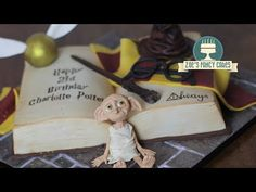 Harry Potter Dobby House Elf Cake Topper - YouTube