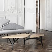 BORGHESE Coffee Table by La Chance, designed by Noé Duchaufour Lawrance and inspired by the beautiful umbrella pine trees in the gardens of the Villa Borghese in Rome. Contemporary Furniture, Contemporary Design, New Furniture, Furniture Design, French Furniture, Table Design, Living Spaces, Living Room, Art Deco
