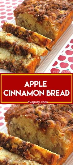 INGREDIENTS: cup brown sugar (not packed) 1 teaspoon ground cinnamon cup white sugar cup butter, softened 2 eggs 1 teaspoons vanilla extract 1 cups all-purpose flour 1 teaspoons baking powder cup milk 1 apple, peeled and chopped DIRECTIONS: Preheat oven Apple Cinnamon Loaf, Apple Bread, Cinnamon Apples, Apple Loaf, Ground Cinnamon, Apple Recipes, Baking Recipes, Bread Recipes, Breakfast Recipes