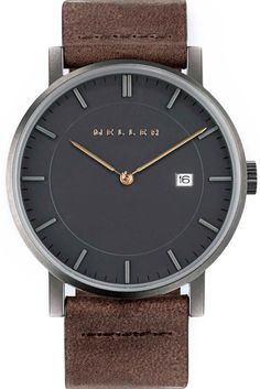Meller Watch | Nag Earth: the darkness of this watch embraces the spirit of those who seek #adventure when the sun goes down #dark #bold #watch