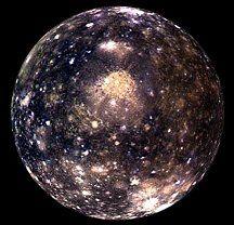 Callisto Jupiter's moon
