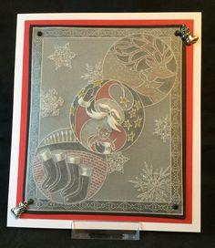 Christmas Groovi by Jo Rice All Things Christmas, Christmas Cards, Christmas Ideas, Parchment Design, Parchment Cards, Fall Cards, Card Tags, Craft Items, Handmade Christmas